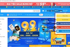 Five Vietnamese companies among ten most visited e-commerce sites in Southeast Asia