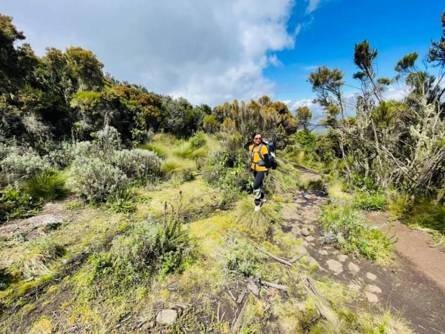 Sếp Viettel trở thành nữ 9x Việt Nam đầu tiên chinh phục Nóc nhà của Châu Phi Kilimanjaro: Leo 8 ngày liên tiếp, xuyên qua vùng nắng rát chóng mặt đến nơi -20 độ C - Ảnh 4.