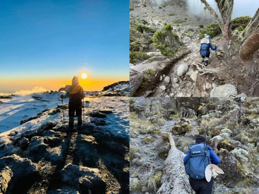 Sếp Viettel trở thành nữ 9x Việt Nam đầu tiên chinh phục Nóc nhà của Châu Phi Kilimanjaro: Leo 8 ngày liên tiếp, xuyên qua vùng nắng rát chóng mặt đến nơi -20 độ C - Ảnh 8.