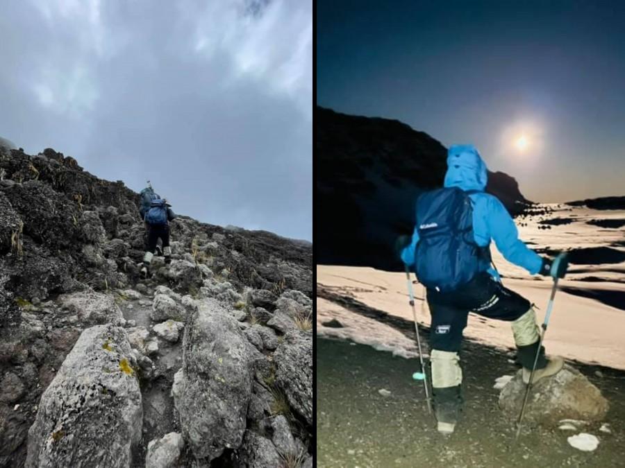 Sếp Viettel trở thành nữ 9x Việt Nam đầu tiên chinh phục Nóc nhà của Châu Phi Kilimanjaro: Leo 8 ngày liên tiếp, xuyên qua vùng nắng rát chóng mặt đến nơi -20 độ C - Ảnh 9.