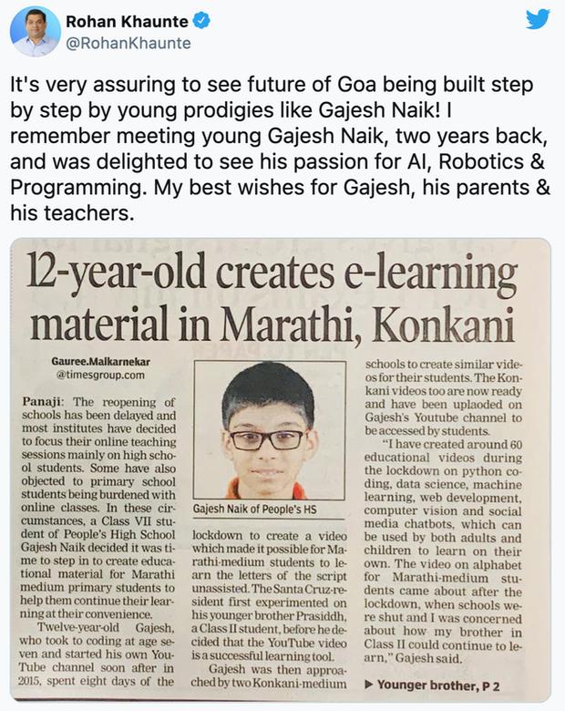 Mới 13 tuổi mà đã biết 5 ngôn ngữ lập trình, cậu coder này viết được ứng dụng quản lý số tiền điện tử trị giá 7 triệu USD - Ảnh 4.