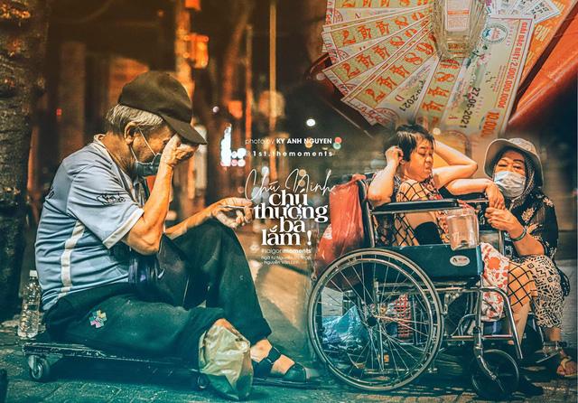 Thương lắm Sài Gòn ơi! - dự án ảnh chụp người lao động nghèo đầy cảm xúc của travel blogger trẻ Nguyễn Kỳ Anh - Ảnh 1.