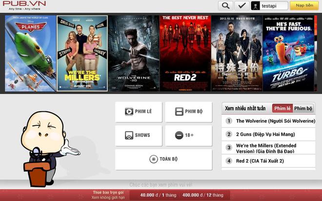 Bên cạnh vua lì đòn phimmoi.net, nhan nhản website xem phim lậu, vi phạm bản quyền vẫn ngang nhiên hoạt động - Ảnh 2.