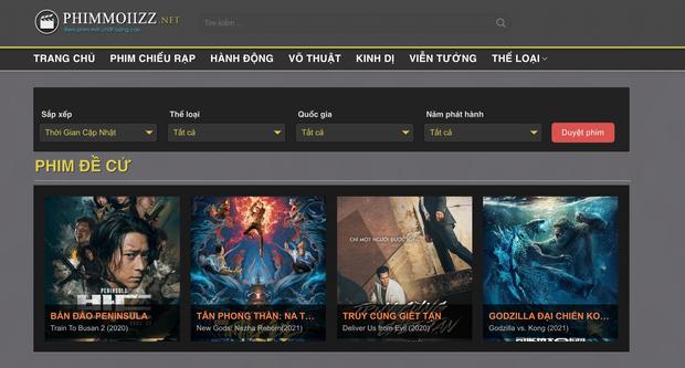 Bên cạnh vua lì đòn phimmoi.net, nhan nhản website xem phim lậu, vi phạm bản quyền vẫn ngang nhiên hoạt động - Ảnh 3.