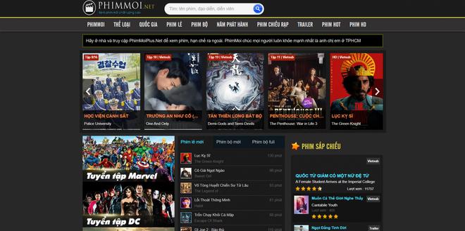 Bên cạnh vua lì đòn phimmoi.net, nhan nhản website xem phim lậu, vi phạm bản quyền vẫn ngang nhiên hoạt động - Ảnh 4.