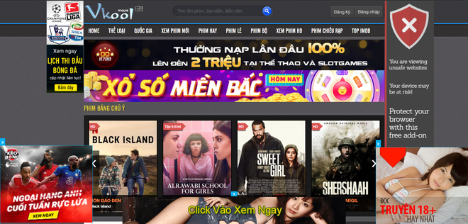Bên cạnh vua lì đòn phimmoi.net, nhan nhản website xem phim lậu, vi phạm bản quyền vẫn ngang nhiên hoạt động - Ảnh 8.
