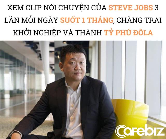 Xem clip trò chuyện của Steve Jobs 3 lần mỗi ngày trong suốt 1 tháng, chàng trai quyết định khởi nghiệp, 16 năm sau trở thành tỷ phú giàu nhất Singapore - Ảnh 1.
