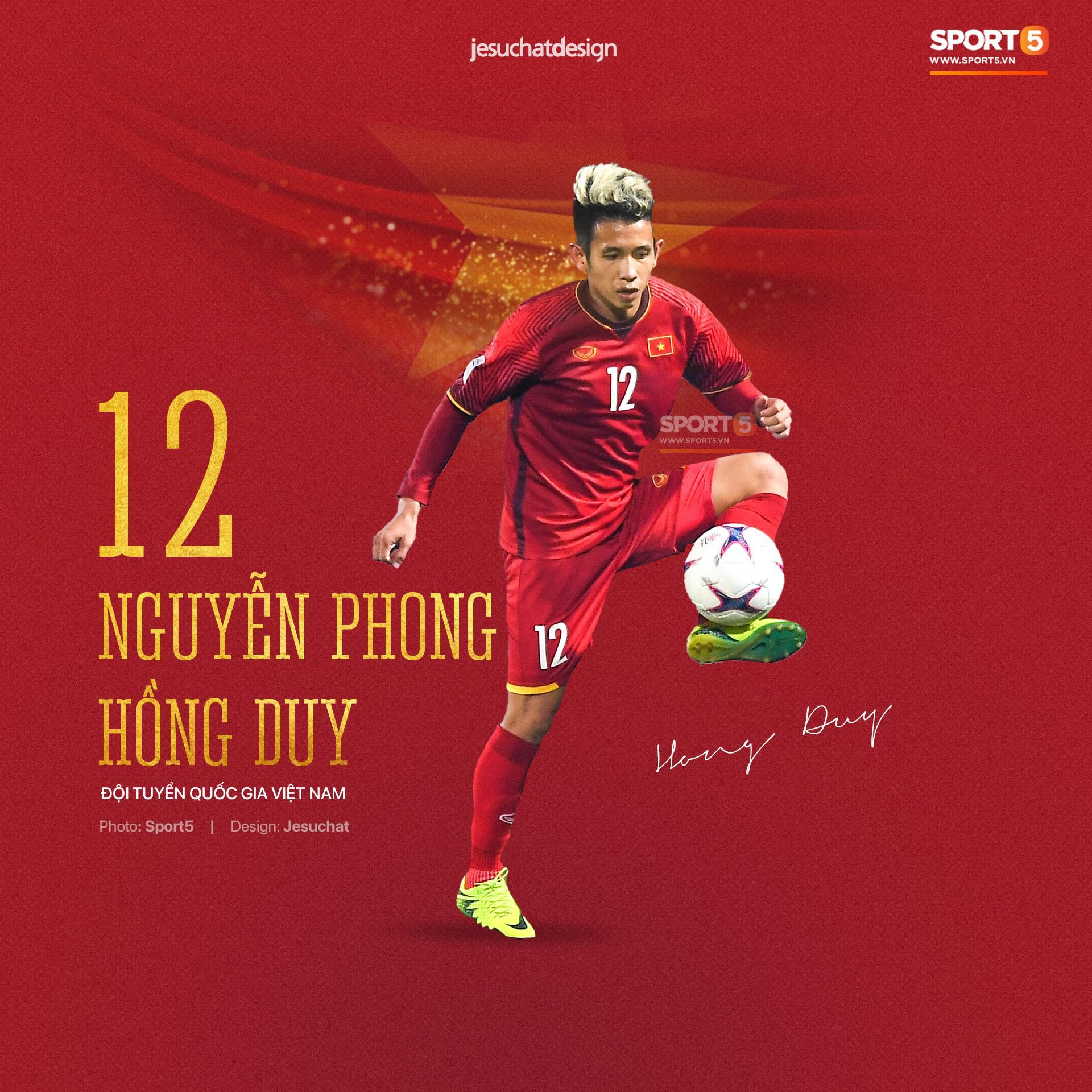 Info long lanh của 23 nhà vô địch AFF Cup 2018, những người hùng dân tộc - Ảnh 16.