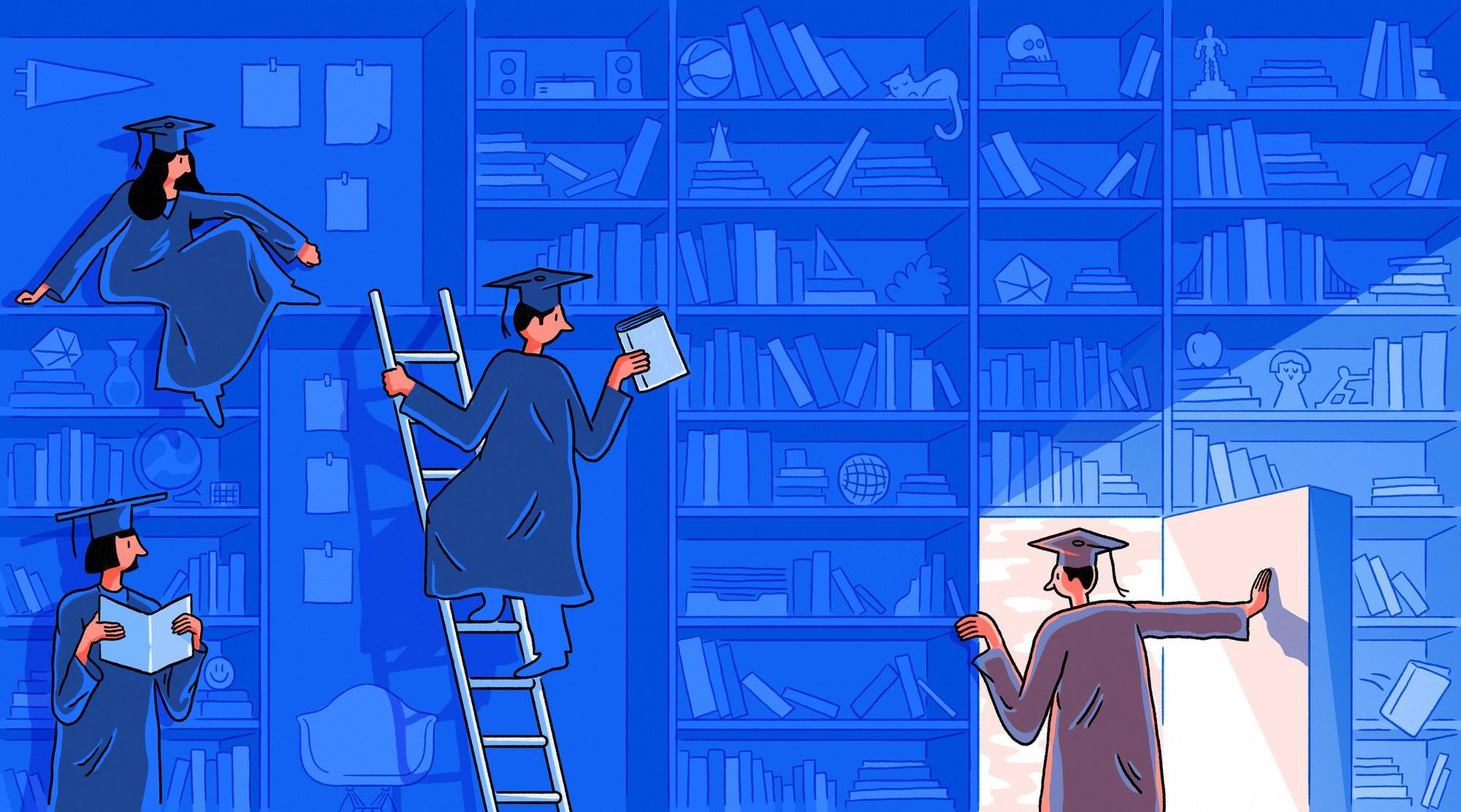 Thanh xuân chưa một lần nỗ lực: Cùng đỗ đại học như nhau, tại sao sau 4 năm lại có chênh lệch khổng lồ giữa người với người - Ảnh 1.