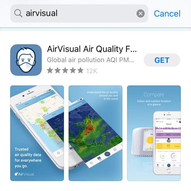 AirVisual trở lại sau vài ngày bay màu, dân mạng Việt đua nhau chấm 5 sao và bình luận khen nức nở - Ảnh 2.