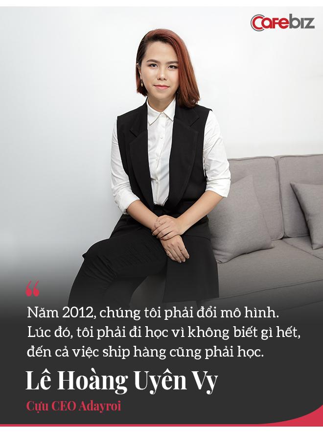 Chuyện chưa kể về Chon.vn và chiêm nghiệm của cựu 'nữ tướng' Adayroi Lê Hoàng Uyên Vy: Bản chất E-Commerce là ai sống lâu hơn ai! - Ảnh 8.