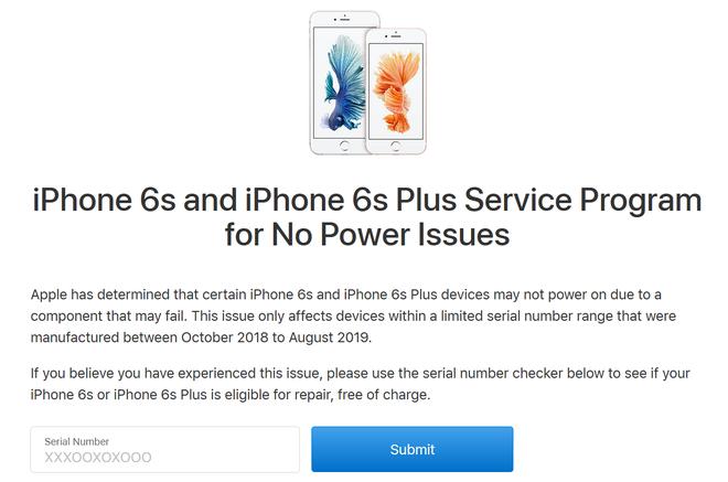 Apple xác nhận iPhone 6s có thể biến thành cục gạch, vào kiểm tra ngay xem máy của bạn có dính hay không - Ảnh 1.