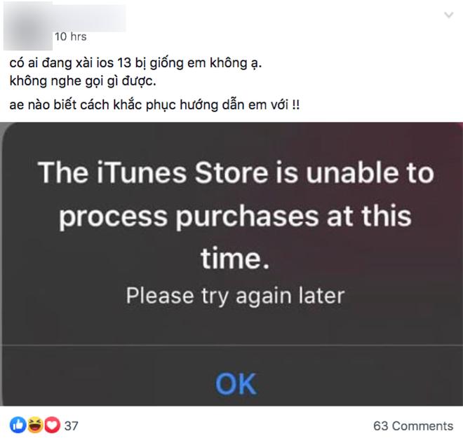 Người Việt kêu trời vì iPhone liên tục hiện bảng thông báo lạ - Ảnh 1.