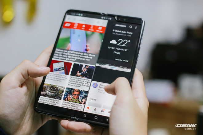 Mở hộp Galaxy Fold chính hãng: Giá 50 triệu đồng nhưng vẫn cháy hàng chỉ sau 6 giờ mở bán - Ảnh 20.