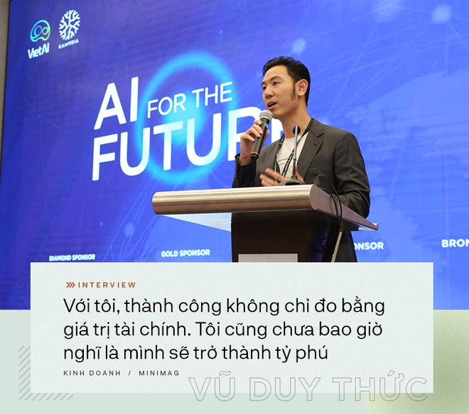 TS Vũ Duy Thức: Khát vọng xây startup kỳ lân trên đất Mỹ và ươm những hạt giống tốt nhất ở Việt Nam - Ảnh 8.
