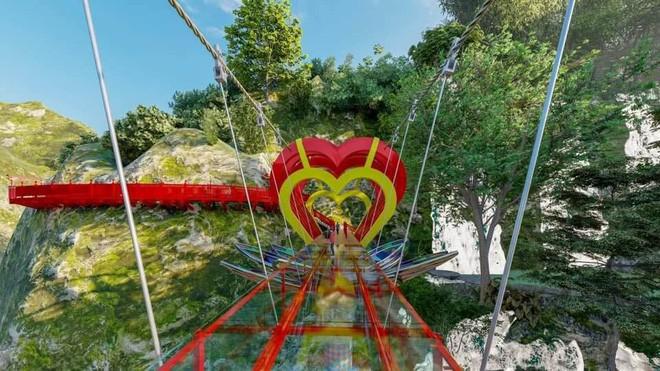 Tranh cãi xoay quanh yếu tố thẩm mỹ của cây cầu 5D đang gây sốt ở Mộc Châu: Khen đẹp thì ít nhưng chê bai sến súa, lạc lõng nhiều vô kể - Ảnh 1.