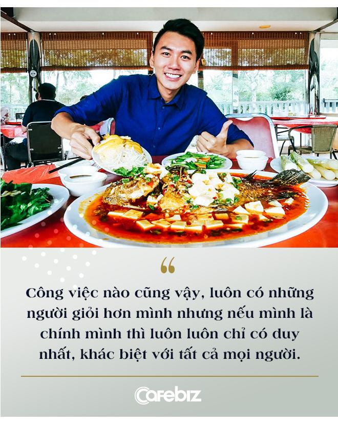 """Bỏ công việc kỹ sư để theo đuổi nghề Youtube bất ổn, nhiều người nói sinh ra ở vạch đích, travel vlogger Khoai Lang Thang cười: """"Tôi không giàu, tôi thậm chí được sinh ra ở nông thôn"""" - Ảnh 6."""