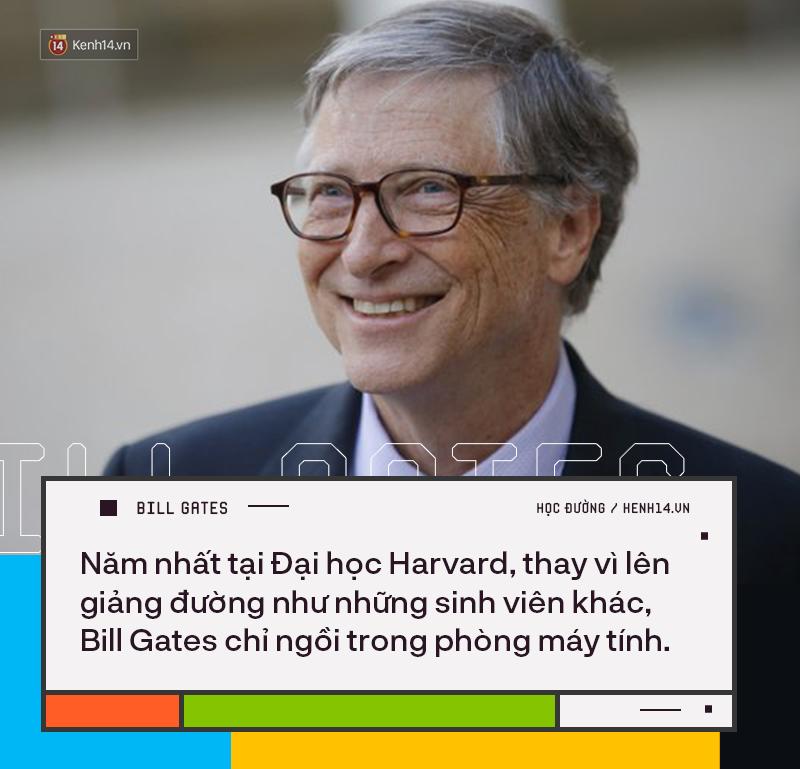 Người trẻ đua nhau bỏ học Đại học để thành tỷ phú như Bill Gates nhưng có 8 sự thật về việc học của ông không phải ai cũng biết - Ảnh 5.