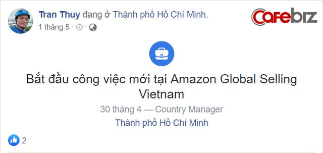 Amazon đã chính thức lập công ty tại Việt Nam, CEO là sếp cũ của Alibaba - Ảnh 2.