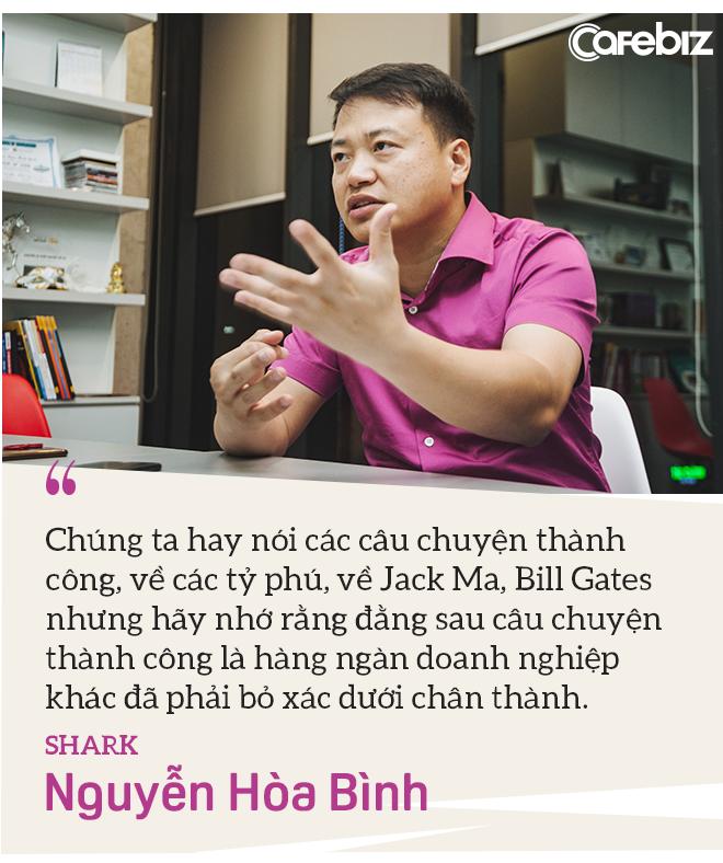 Shark Nguyễn Hòa Bình: Tôi đến Shark Tank không phải để PR, vì tôi đã nổi tiếng sẵn rồi! - Ảnh 2.