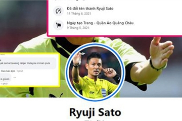 Đổi tên page bán hàng online thành tên trọng tài Nhật Bản bắt trận Việt Nam - Malaysia để hút tương tác khủng!