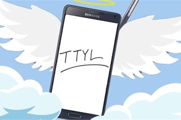 Cảm ơn và tạm biệt Galaxy Note?