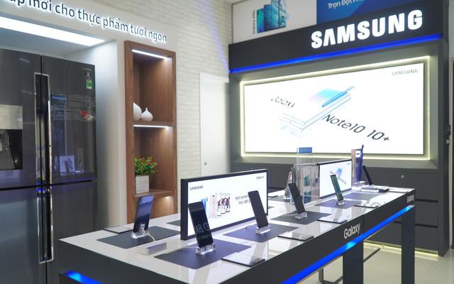Samsung hợp tác với các nhà phân phối mở một loạt cửa hàng Brand Shop