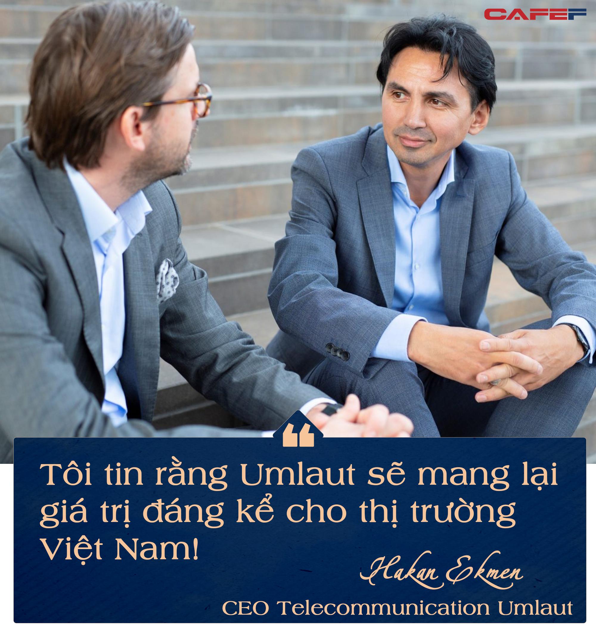 CEO Telecommunication Umlaut: Tiên phong triển khai 5G chứng minh Việt Nam có thể đưa ra các hạ tầng số hiệu quả! - Ảnh 5.