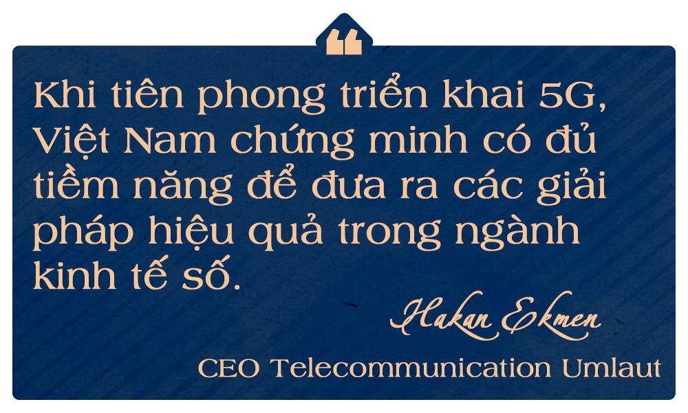 CEO Telecommunication Umlaut: Tiên phong triển khai 5G chứng minh Việt Nam có thể đưa ra các hạ tầng số hiệu quả! - Ảnh 8.
