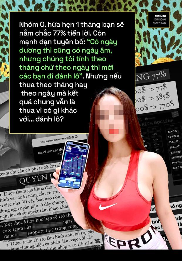 Lột trần hệ sinh thái hot girl tài chính 4.0: Ngày ngày khoe ngực tràn màn hình giao dịch, vẽ chuyện làm giàu truyền cảm hứng và còn chiêu trò gì nữa? - Ảnh 20.