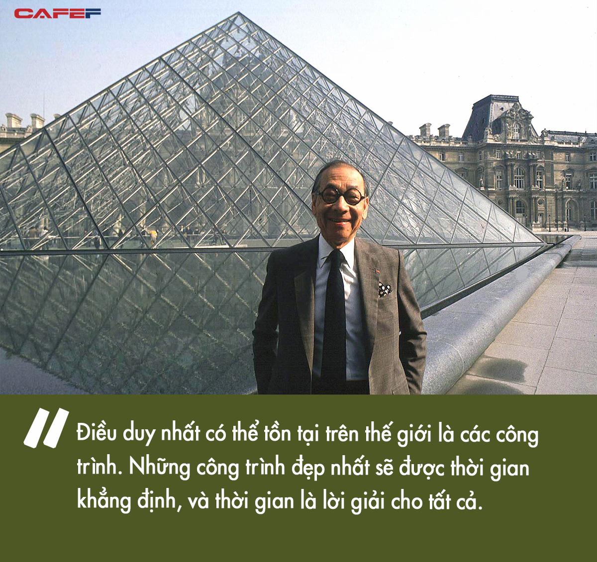 Cha đẻ của kim tự tháp kính Louvre khiến người Pháp vừa chê bai đã phải ngả mũ thán phục: Hậu duệ của gia tộc giàu có suốt 15 đời, dạy con thành tài nhờ bí quyết tổ truyền - Ảnh 7.