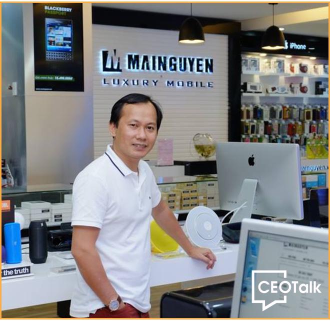 CEO Mai Triều Nguyên: Từ bán đĩa CD đến điện thoại Vertu, Mobiado giá hàng trăm triệu đồng - Ảnh 2.