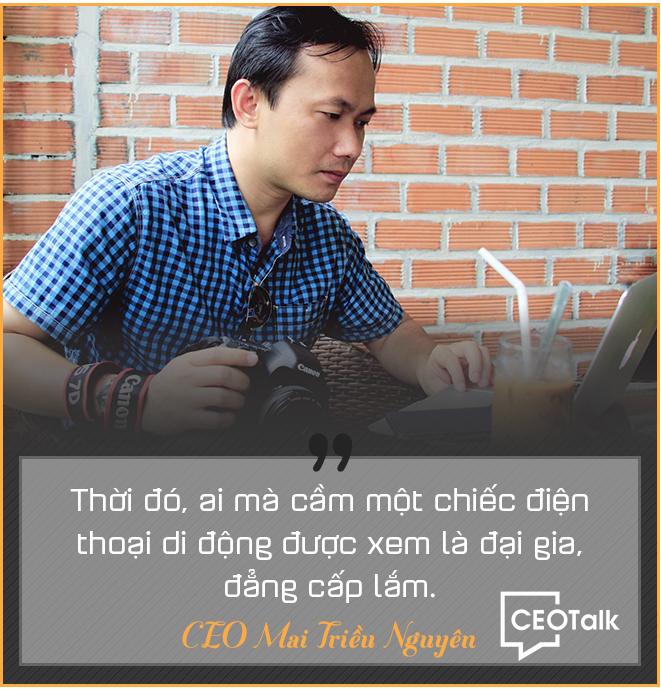 CEO Mai Triều Nguyên: Từ bán đĩa CD đến điện thoại Vertu, Mobiado giá hàng trăm triệu đồng - Ảnh 3.