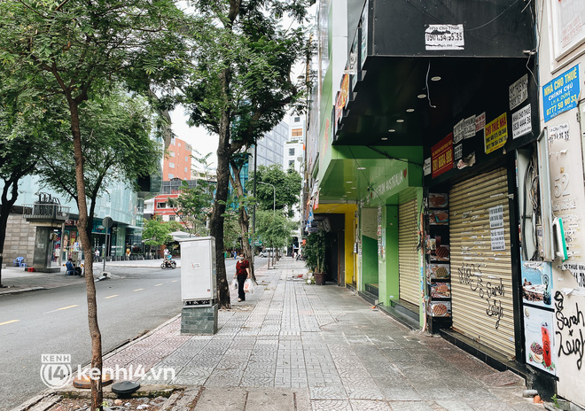 Ảnh: Nhiều quán cafe nổi tiếng, cơm tấm Sài Gòn vẫn trong tình trạng ngủ đông dù được bán mang về - Ảnh 4.