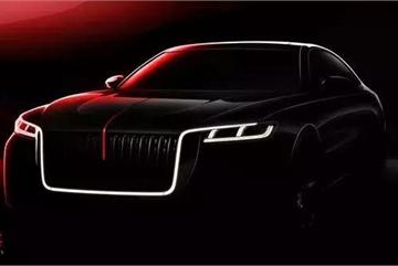 Lộ diện mẫu xe sedan hạng sang của Trung Quốc, thiết kế lấy từ Rolls-Royce