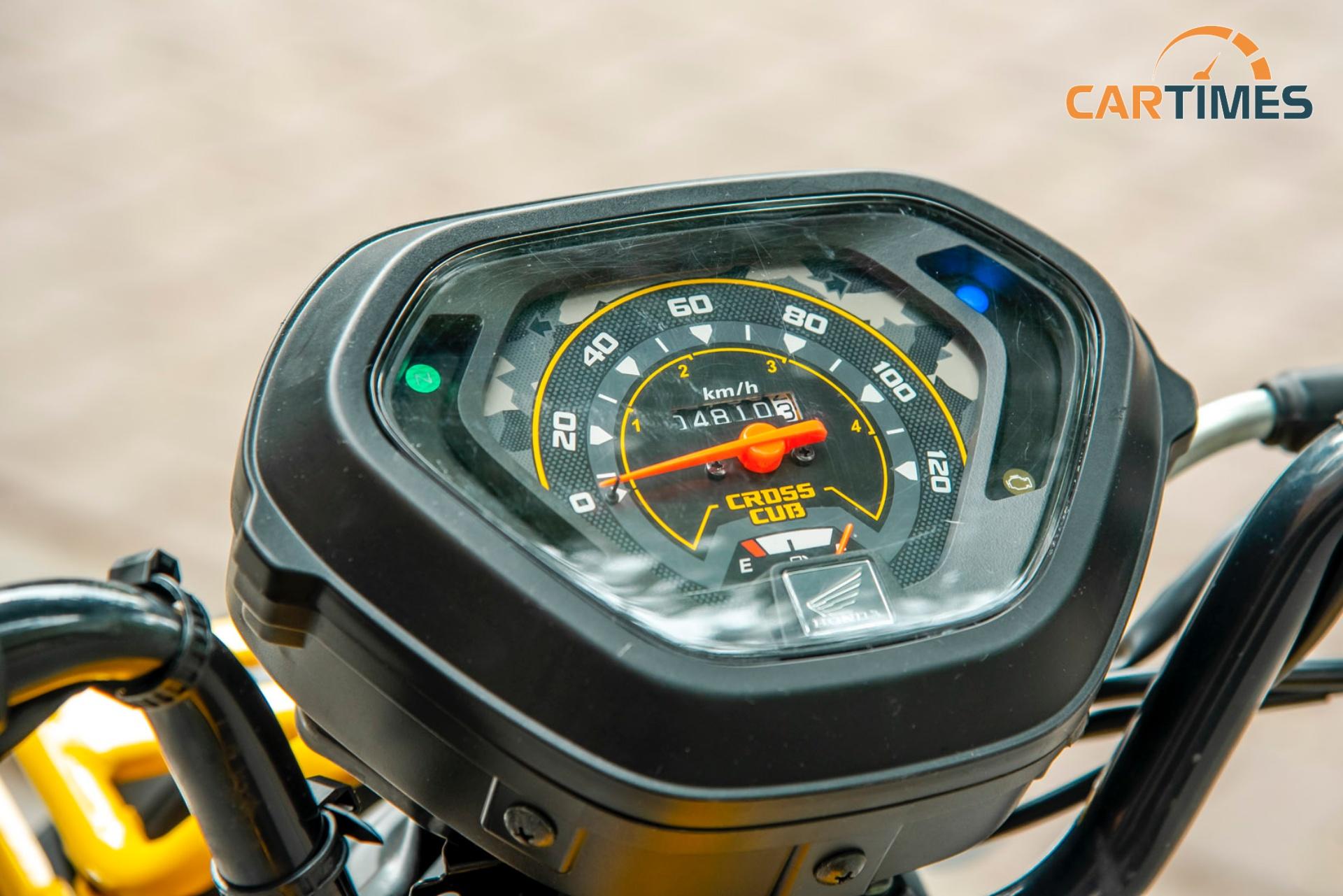 Đồng hồ hiển thị của xe Honda Cross Cub