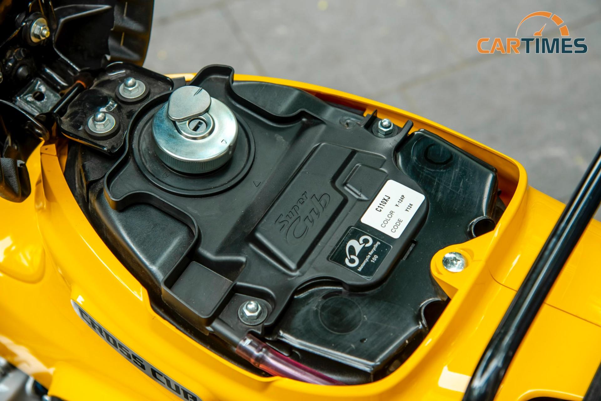 Bình xăng xe Honda Cross Cub