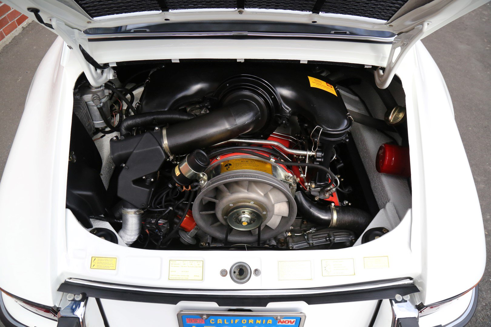 Động cơ xe Porsche 911 Carrera RS 2.7 1973