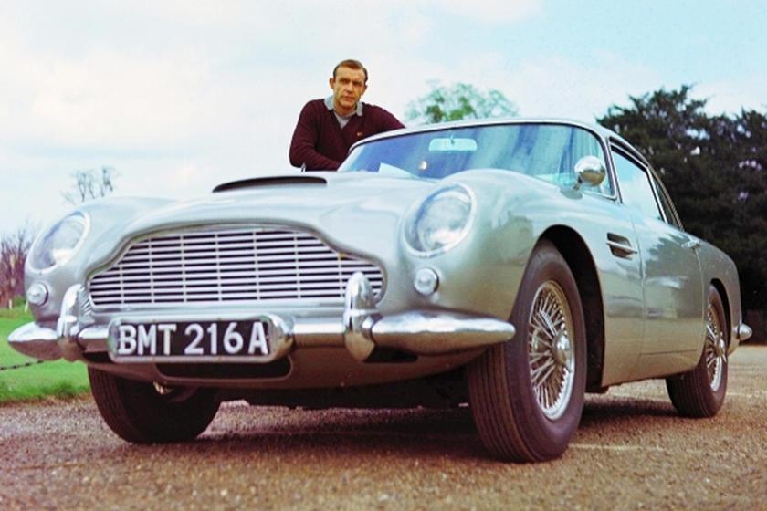Chiếc xe huyền thoại từng được sử dụng trong phim 007