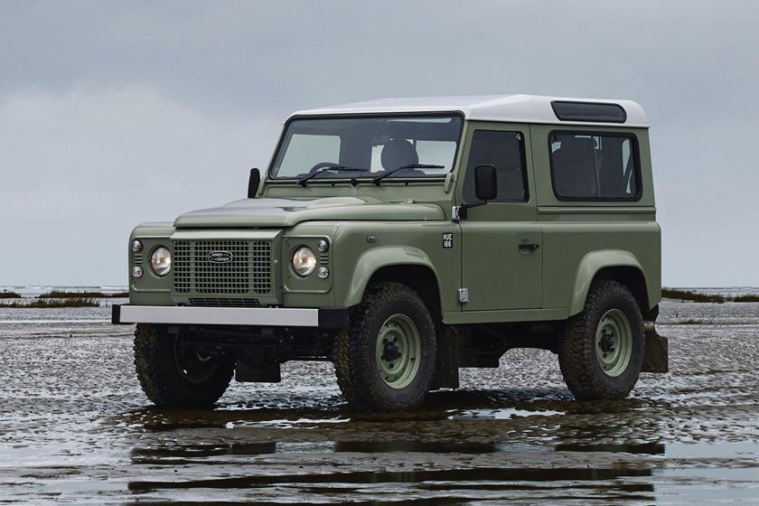 Đây từng là mẫu xe quân sự của quân đội Anh