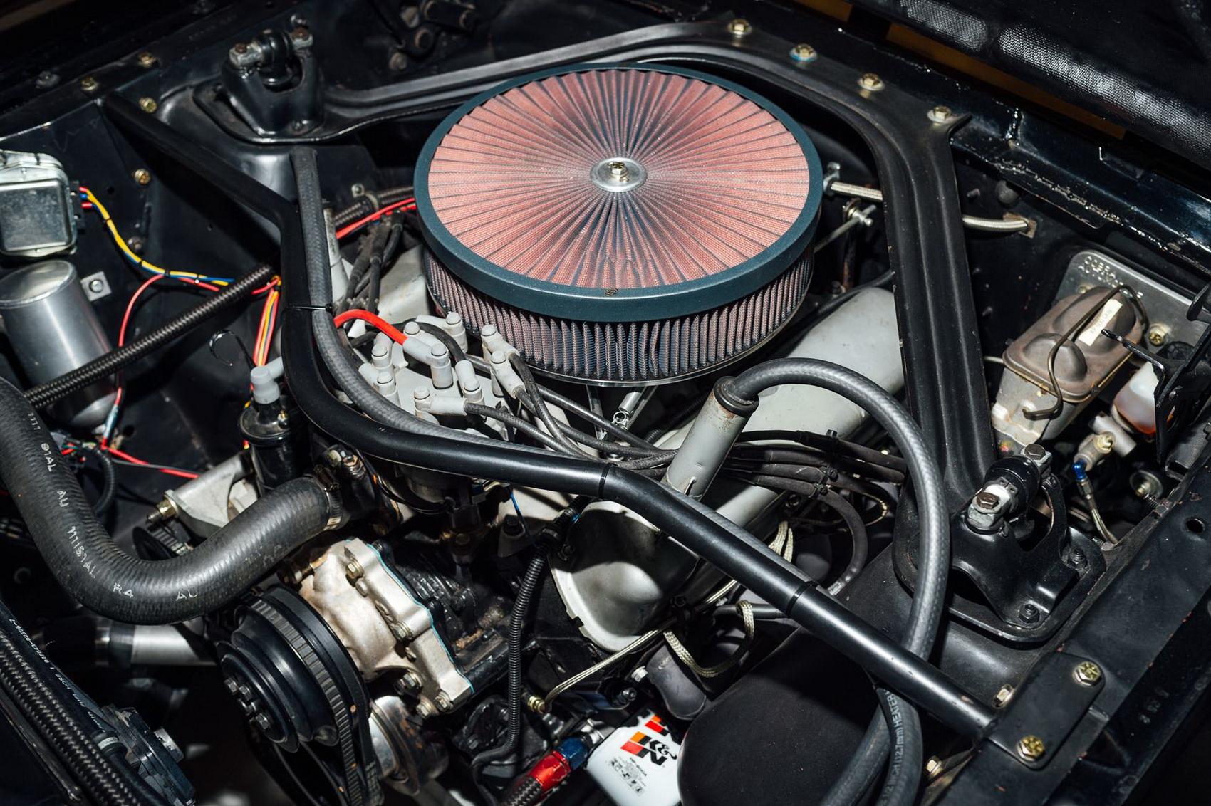 Đông cơ xe Shelby Mustang GT350H