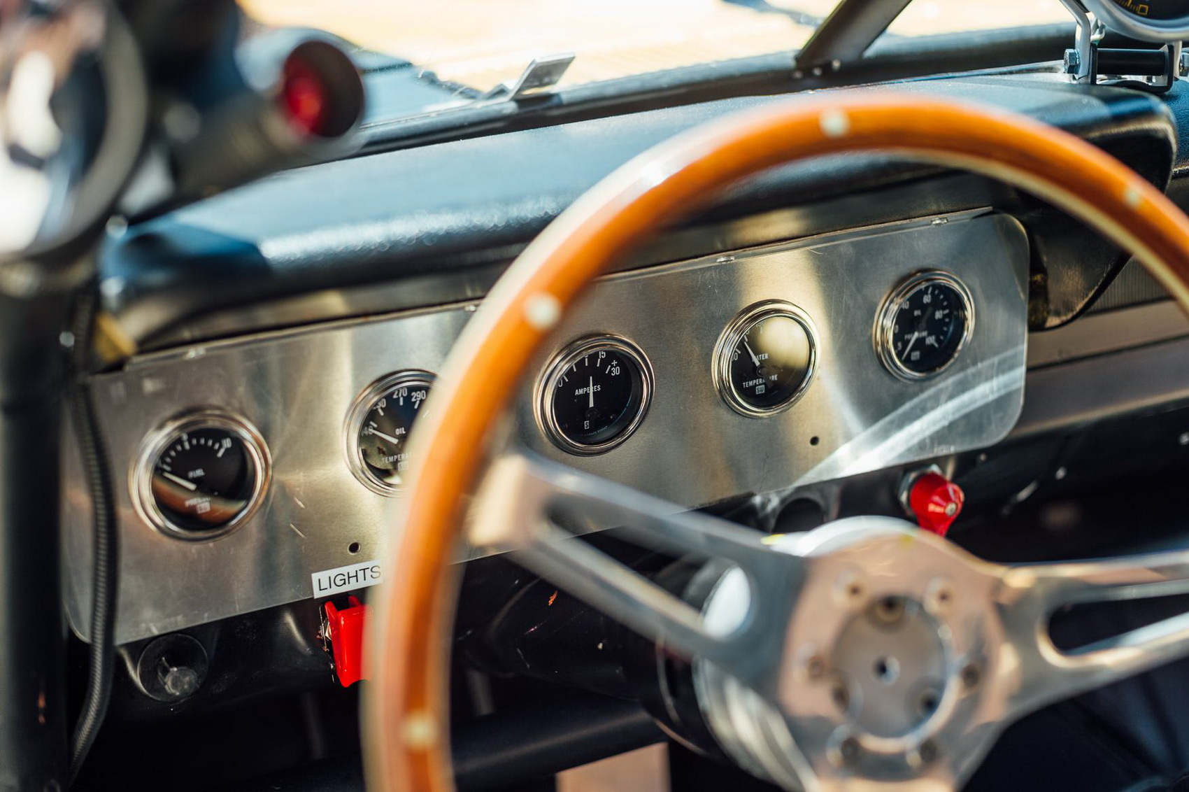 Đồng hồ hiển thị của xe Shelby Mustang GT350H