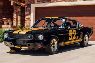 Xe cổ Shelby Mustang đời 1966 siêu hiếm sắp được bán đấu giá