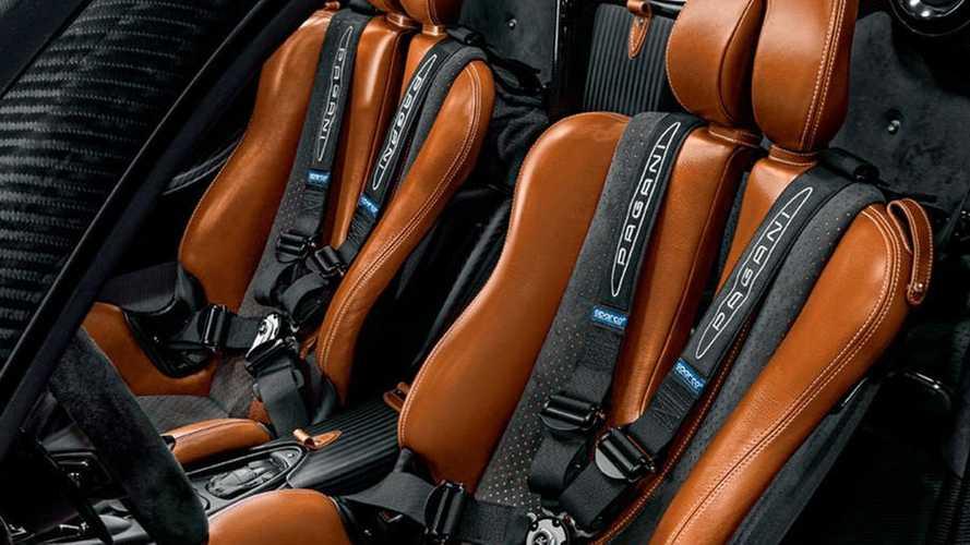 Thiết kế ghế lái xe Pagani Huayra Roadster BC