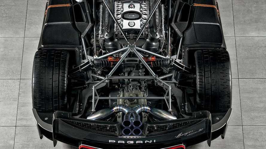 Pagani Huayra Roadster BC là mẫu xe mạnh nhất của hãng xe Thuỵ Điển