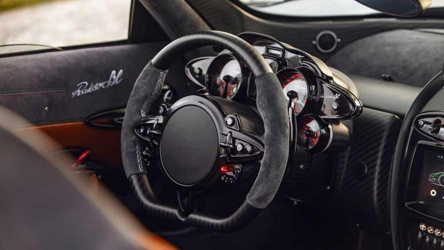 Vô lăng xe Pagani Huayra Roadster BC