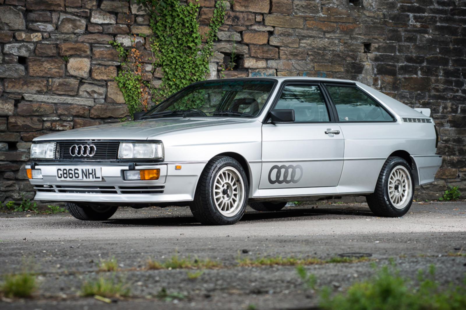Xe Audi Quattro là tiên phong trong việc sử dụng dẫn động 4 bánh