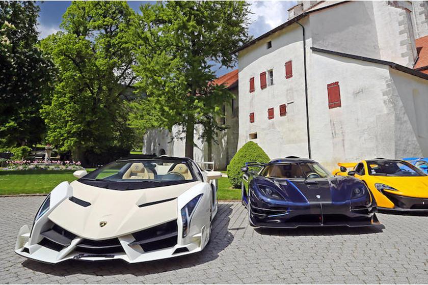 Chiếc Lamborghini Veneno siêu hiếm với giá vài triệu USD
