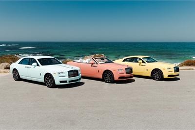 Bộ 3 Rolls-Royce có màu ngoại thất cực độc đáo