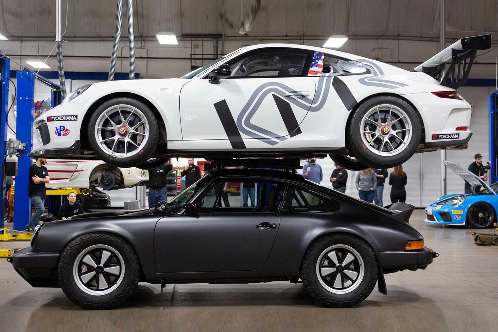 Động cơ của xe được tinh chỉnh để có thể tăng thêm tải trọng